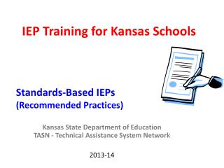 IEP Training for Kansas Schools