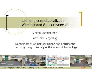 Learning-based Localization  in Wireless and Sensor Networks