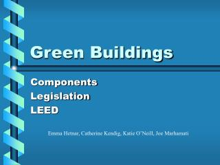 Green Buildings