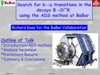 Search for b?u transitions in the decays B?D (*) K - using the ADS method at BaBar
