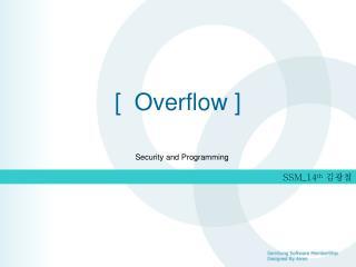 [ Overflow ]