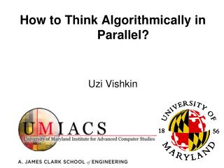 How to Think Algorithmically in Parallel?