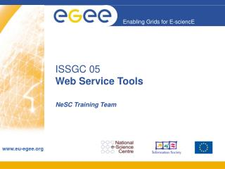 ISSGC 05 Web Service Tools