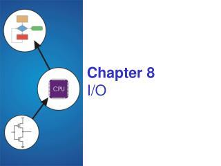 Chapter 8 I/O