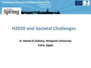 H2020 and  Societal  Challenges