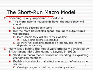 The Short-Run Macro Model