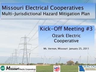 Missouri Electrical Cooperatives Multi-Jurisdictional Hazard Mitigation Plan