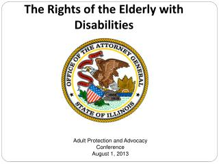 The Rights of the Elderly with Disabilities