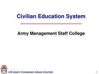 Army Management Staff College