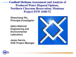 Shaochang Wo, Principal Investigator 	Idaho National Engineering and Environmental Laboratory
