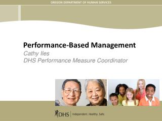 Performance-Based Management Cathy Iles DHS Performance Measure Coordinator