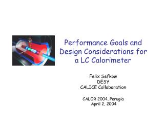 Performance Goals and Design Considerations for a LC Calorimeter