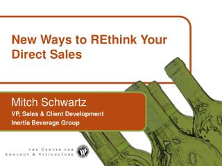 New Ways to REthink Your Direct Sales