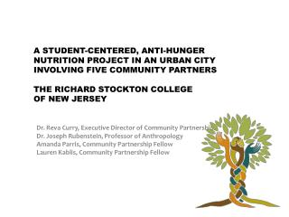 A Student-Centered, Anti-Hunger Nutrition Project in an Urban City Involving Five Community Partners  the Richard Stockt