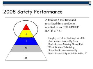 2008 Safety Performance