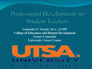 Professional Development for Student Teachers