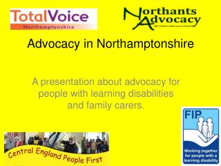 Advocacy in Northamptonshire