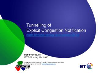 Tunnelling of  Explicit Congestion Notification draft-briscoe-tsvwg-ecn-tunnel-08.txt