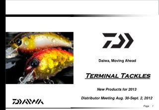 New Daiwa Terminal Tackles