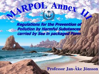 MARPOL  Annex  III