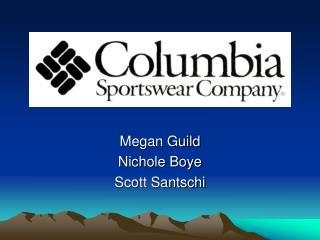 Megan Guild Nichole Boye Scott Santschi
