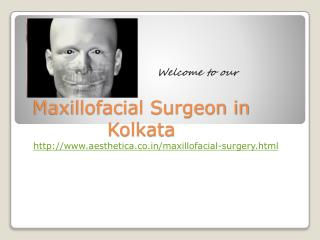 maxillofacial surgeon in kolkata