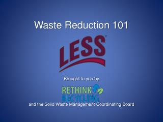 Waste Reduction 101