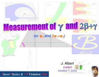 J. Albert Caltech October 7, 2004