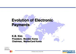 Evolution of Electronic Payments