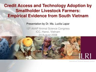Credit Access and Technology Adoption by Smallholder Livestock Farmers: