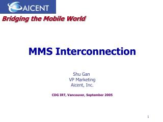MMS Interconnection