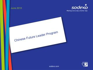 Chinese Future Leader Program