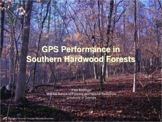 GPS Performance in  Southern Hardwood Forests