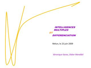 INTELLIGENCES           MULTIPLES    ET     DIFFERENCIATION       Melun ,  le 23 juin 2009