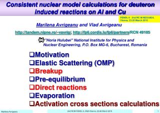Consistent nuclear model calculations for deuteron induced reactions on Al and Cu