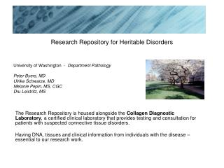 Research Repository for Heritable Disorders