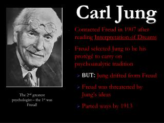 a comparison of jung and freud dream interpretation theories Freud, sigmund , jung, and freud to pursue separate paths while freud was a rationalist, his own theories suggest mythical and religious parallels.