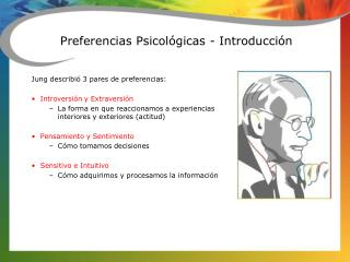 Preferencias Psicológicas - Introducción
