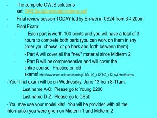 The  complete OWLS solutions  set: OWLSsolutionstoallproblems.pdf
