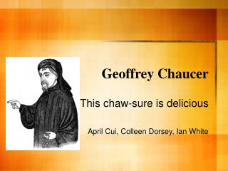 a discussion on geoffrey chaucers use of satire Use of humour in 'the miller's tale' - chaucer no description by shannon clemow on 9 october 2012 tweet wit and/or derision satire satire directed.