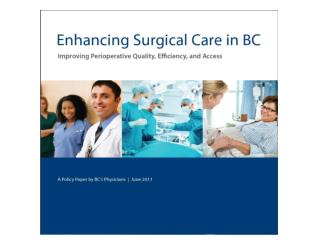 Enhancing Surgical Care in BC