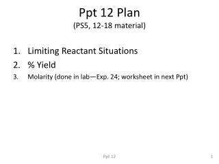 Ppt 12 Plan (PS5, 12-18 material)