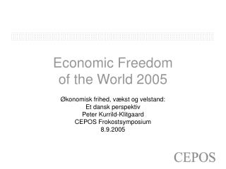 Economic Freedom of the World 2005