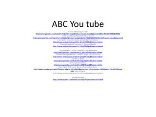 ABC You tube