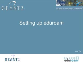Setting up eduroam