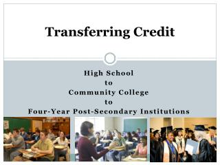 Transferring Credit