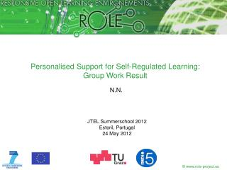 Personalised  Support  for Self-Regulated Learning: Group Work Result