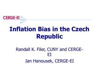 Inflation Bias in the Czech Republic