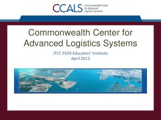 Commonwealth Center for Advanced Logistics Systems