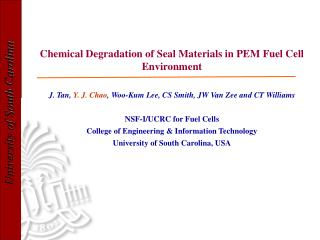 Chemical Degradation of Seal Materials in PEM Fuel Cell Environment